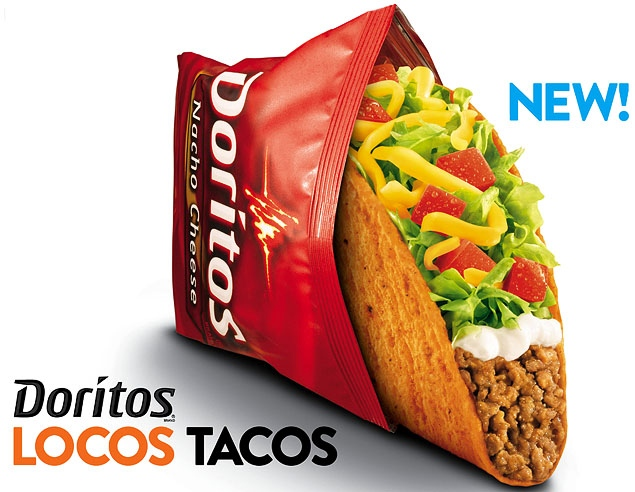 Taco Bell Doritos® Locos Tacos